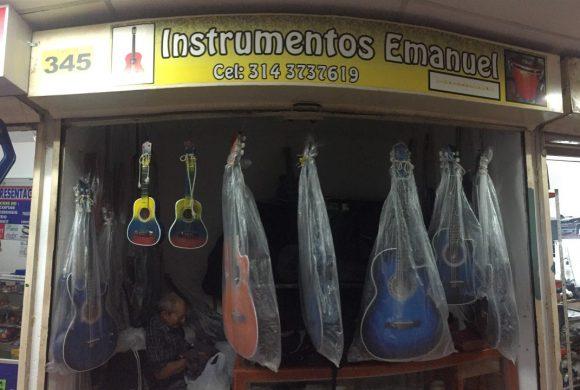 Instrumentos Musicales Emanuel – Local 345